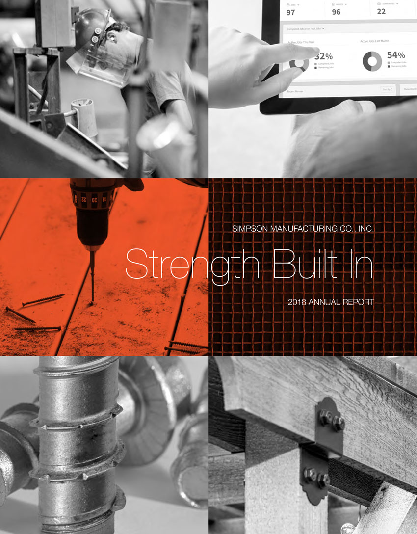 Annual Report: Strength Built In - Simpson Manufacturing Co