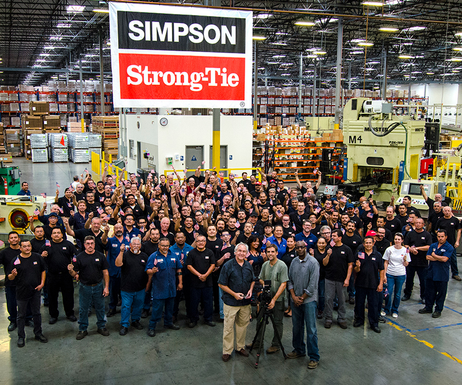 Join Simpson Strong-Tie for a career, not a job!