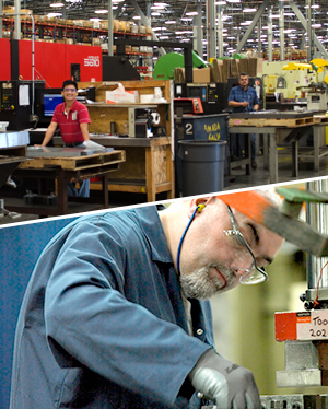 We conduct safety audits at our manufacturing facilities around the world.